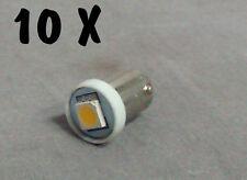 N. 10 LED LAMPE LIGHT BULBS TYPE GE44 6,3V 1SMD 5050 FOR ALL FLIPPER PINBALL