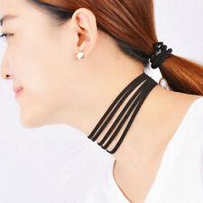 Women Fashion Multilayer Black Velvet Choker Vintage Gothic Goth Collar Necklace