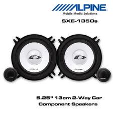 "Alpine SXE-1350S - 5-1/4"" (13cm) Car Component 2-Way Speaker 500W Total Power"