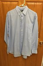Rare Ralph Lauren Men's Marlowe Light Blue Button Down Shirt M Medium