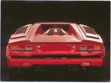 Lamborghini Countach MODERN postcard issued by Athena