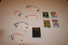 LOt 5 Bicycle playing cards deck ZOMBIE Everyday Standard Leaf Prestige 4 NIB