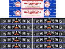 150g Super Hit Incense & 30g Nag Champa 12 Boxes 15 Grams per Box
