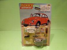 DINKY TOYS METAL KIT 1003 VW VOLKSWAGEN BEETLE 1300 -RARE 1:43 - NM CARD BLISTER