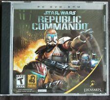 Star Wars: Republic Commando (PC CD-ROM, 2005) 100% Guaranteed Rare VGC