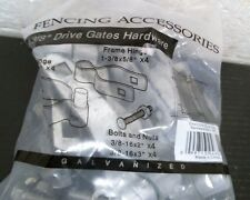 Midwest Air 04634  2.38 in. Galvanized Drive Gate Hardware Set, FREE SHIPPING