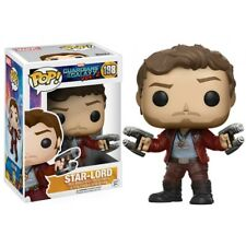 Funko Pop Vinyl Guardians of The Galaxy Vol 2 Star Lord Chase # 198
