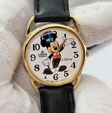 """MICKEY MOUSE,Disney,""""Lorus Tuxideo Dial"""" """" N-Mint w/Box MEN'S WATCH R10-02,L@@K"""
