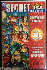 JSA Secret Files and Origins (1999) #1 1st App. Kendra Saunders Hawkgirl