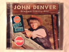 JOHN DENVER Greatest country hits cd EMMYLOU HARRIS SIGILLATO SEALED!!!