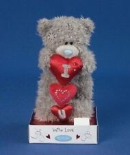 "Me To You Tatty Teddy Collectors 6"" Christmas Plush Bear - I Love You Hearts"