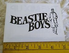 2007 Beastie Boys Grand Royal Capitol Records The Mix Up Promo only Sticker