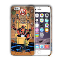 Super Hero Deadpool Iphone 5 5s SE 6 6s 7 8 X XS Max XR 11 12 Pro Plus Case n4
