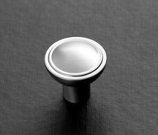 Möbelknöpfe - NEU - aus Miele Küche - schwere Metallausführung matt gebürstet
