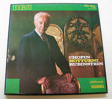 CHOPIN notturni RUBINSTEIN 2LP BOX 1967 ITALY DELUXE DYNAGROOVE RCA RED SEAL