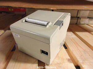 Epson TM-T88IV M129H NETWERK Bonnen Kassa Printer Ticket POS Drucker + NEW PSU