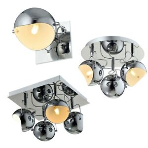 Polished Chrome Ceiling Lights Wall Lights Wall Lamp G9, Bulbs Not Included