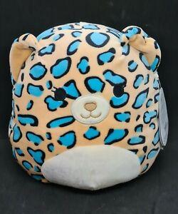 BNWT 2020 Kellytoy Squishmallows Plush 20cm Liv Leopard Collectible Toy