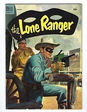 The Lone Ranger Vol 1 # 80 February 1955 Dell Publication Comic Book Golden Age
