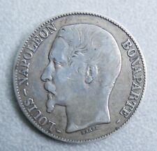 Monnaie de France—5 francs argent—Louis Napoléon Bonaparte—1852