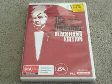 The Godfather Blackhand Edition - Nintendo Wii Game - Australian PAL Version