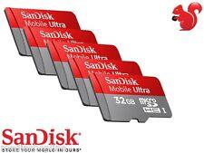 MICRO SD HC 32GB CLASSE 10 FULL HD SANDISK ULTRA UHS-I  80MB/s + ADATTATORE SD