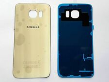 Replacement GOLD Rear Back Battery Cover Glass For Samsung Galaxy S6 SM-G920F
