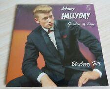 CD SINGLE 2 TITRES JOHNNY HALLYDAY GARDEN OF LOVE BLUEBERRY HILL NEUF