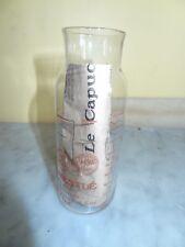 ancien DOSEUR à Biberon Lait concentré NESTLE en verre 1960 vintage avec notice
