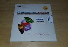 Hewlett Packard HP Advancestack Advance Stack Assistant CD-Rom Software Windows