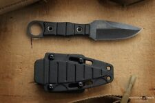 "Knife ""Hedgehog"" black Stonewash from Kizlyar  (Kizlyar)"
