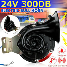 300DB 24V Electric Auto Air Horn Super Loud For Motorcycle Car Truck Boat New
