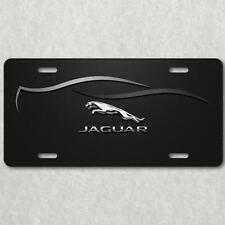 Jaguar HD Image on Aluminum License Plate Tag