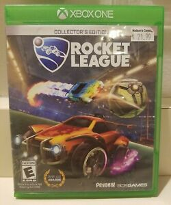 Rocket League: Collector's Edition (XBOX One, 2016) Tested & Works!