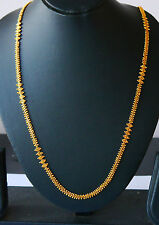 22k indian gold plated necklace choker chain necklace sets fashion JEWELRY  H72