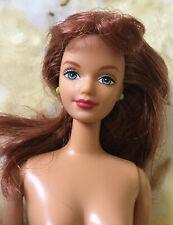 Barbie Midge Doll Red Hair Freckles Bendable Knees Nude For Play Or OOAK Repaint