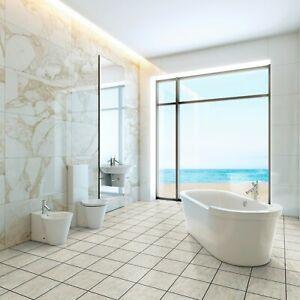 Vusta White Porcelain LVT Luxury Vinyl Flooring 1.86m2 *Clearance £7.20 m2*