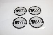 4 x70mm Silikon Emblem Felgen Aufkleber Nabendeckel Nabenkappen