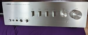 Yamaha A-S500 silver amplificatore integrato hifi phono pure direct telecomando