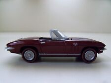 JOHNNY LIGHTNING -CELEBRATING  50 YEARS OF CORVETTE - 1966 CONVERTIBLE - (LOOSE)