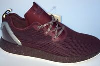 adidas ZX Flux ADV Asymmetrical Running Trainers AQ6658 Maroon Black BNIB UK 9