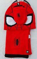 Spiderman. 3 Piece Set  Hat, Scarf & Mitten/Gloves).Age 18 - 36 Months  New.
