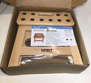 "Foldable Wooden Stool Handmade By Jiodux  11""x8"" Folding Step-stool"