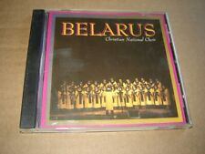 Belarus Christian National Choir CD rare 1996 release made in USA great shape