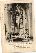 """CPA  Statue de la Ste Vierge en l'Eglise N.-D de Feurs dite """"la Vierge..(225704)"""