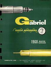 "Vintage 1960 AD ""GABRIEL Master Catalog"" Jobbers SELL SHEET ADVERTISING"