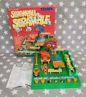 Screwball Scramble Tomy 1980's Action Game Complete, Boxed