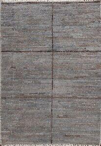 Geometric Distressed Gabbeh Kashkoli Oriental Area Rug Handmade Wool Carpet 2x3