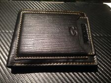 Designer Wholesale Mens black Leather Bifold Wallet Credit ID Card Holder 2016