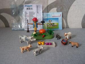 Playmobil Ergänzungen & Zubehör - 9832 Fleckenschweine und Schafe - Neu